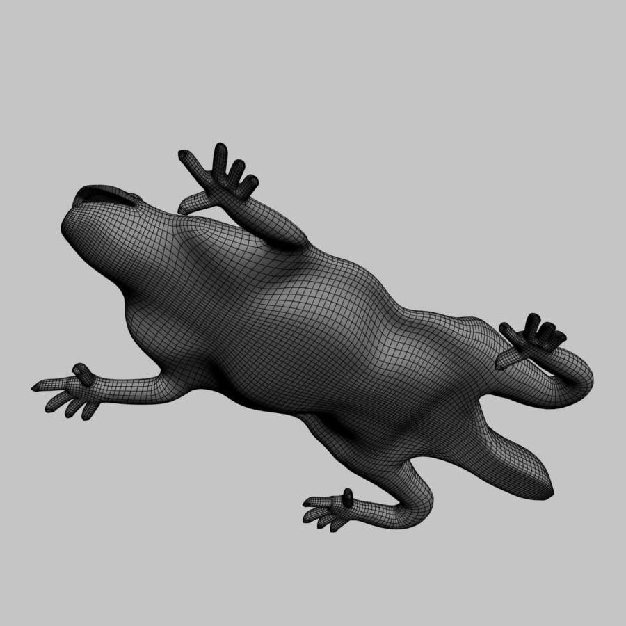Gaudinian Dragon royalty-free 3d model - Preview no. 11