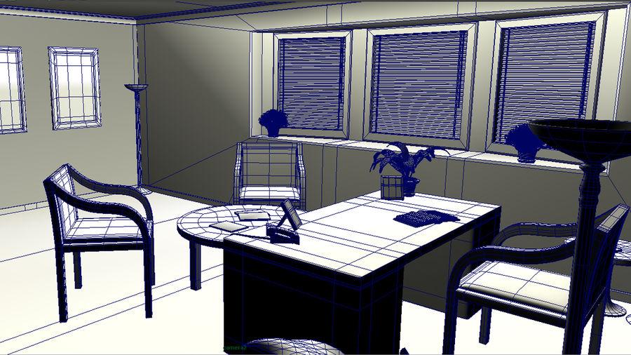Interior De La Oficina Modelo 3d 39 Ma Free3d