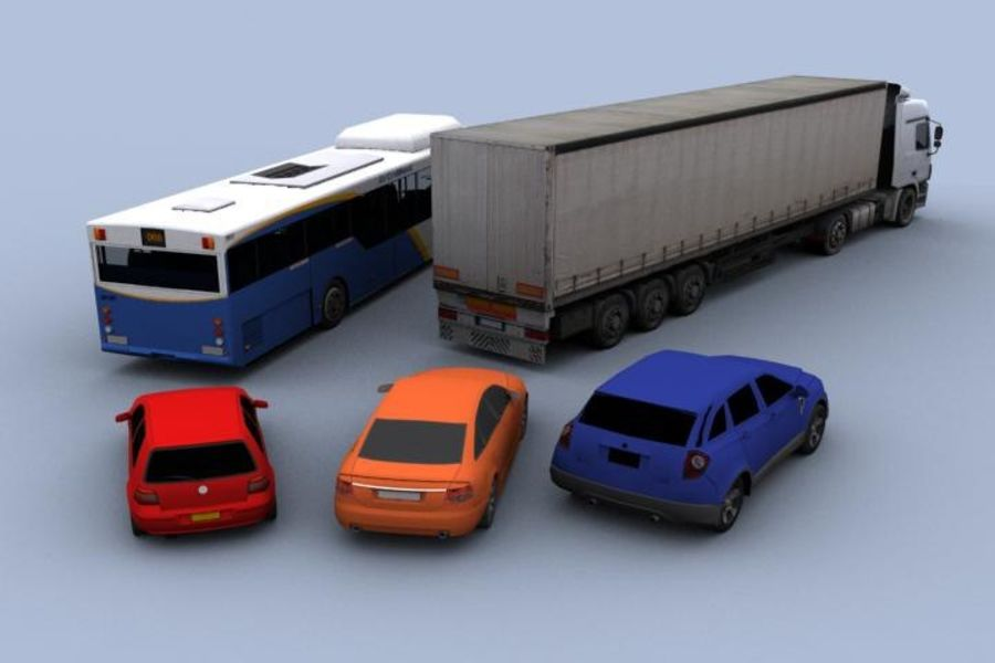 Vehicle Pack royalty-free 3d model - Preview no. 2