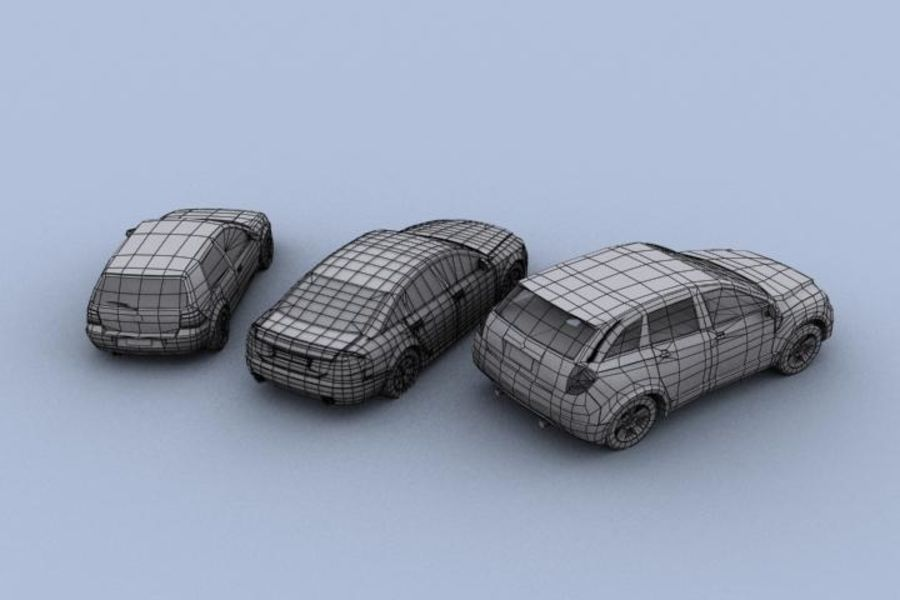 Vehicle Pack royalty-free 3d model - Preview no. 6