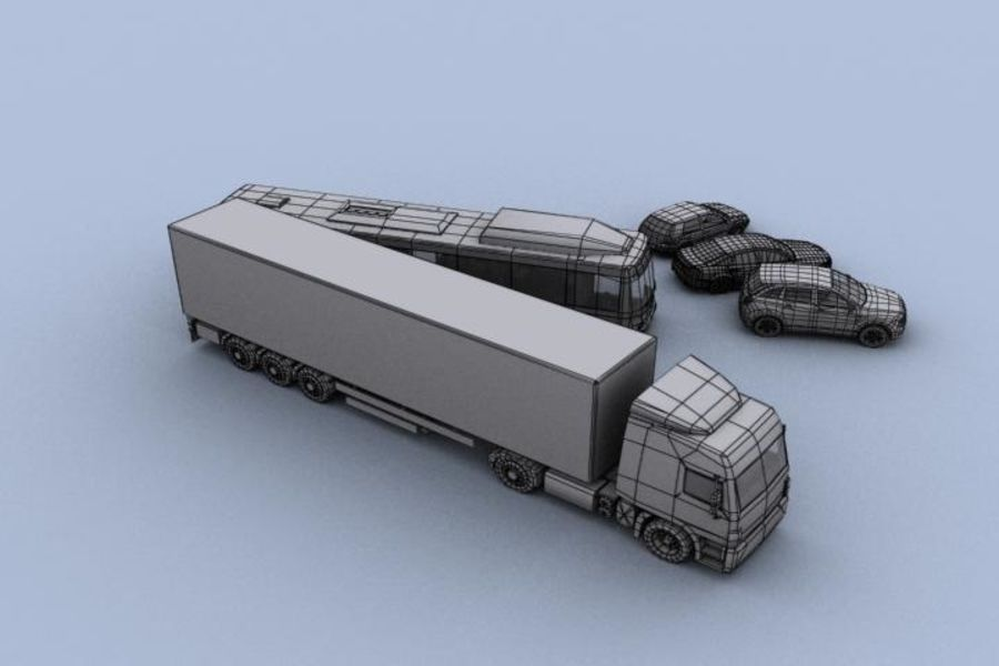 Vehicle Pack royalty-free 3d model - Preview no. 5