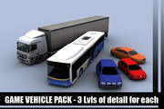 Vehicle Pack 3d model