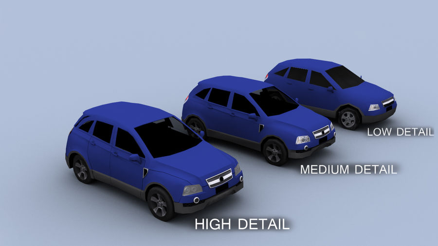Vehicle Pack royalty-free 3d model - Preview no. 7
