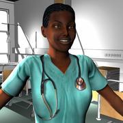 Medical Staff Female 29 3d model