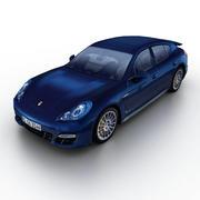 Porsche Panamera GTS 2013 3d model
