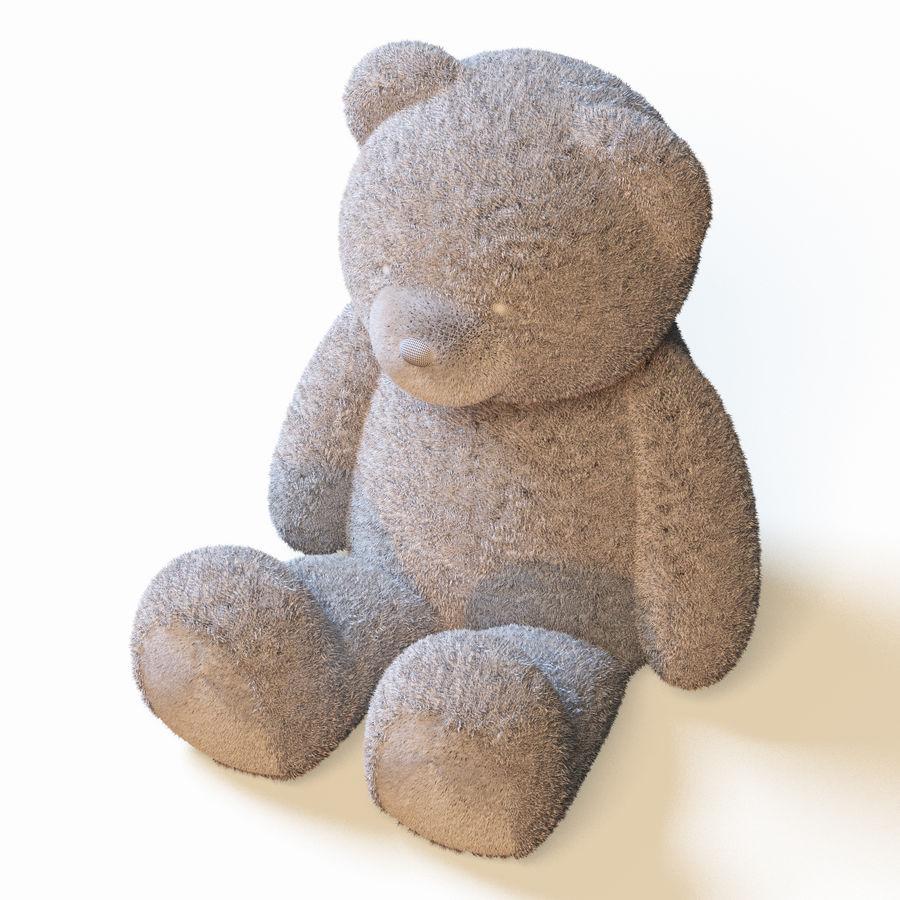 Плюшевый медведь royalty-free 3d model - Preview no. 6