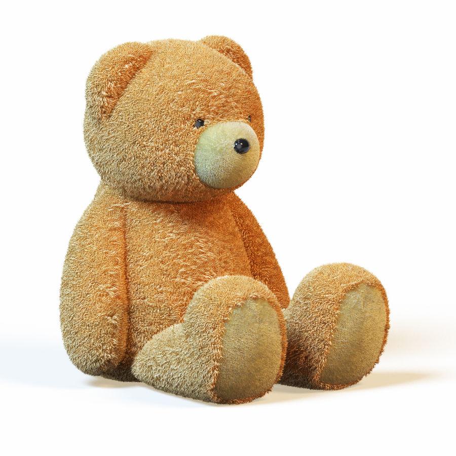 Плюшевый медведь royalty-free 3d model - Preview no. 1