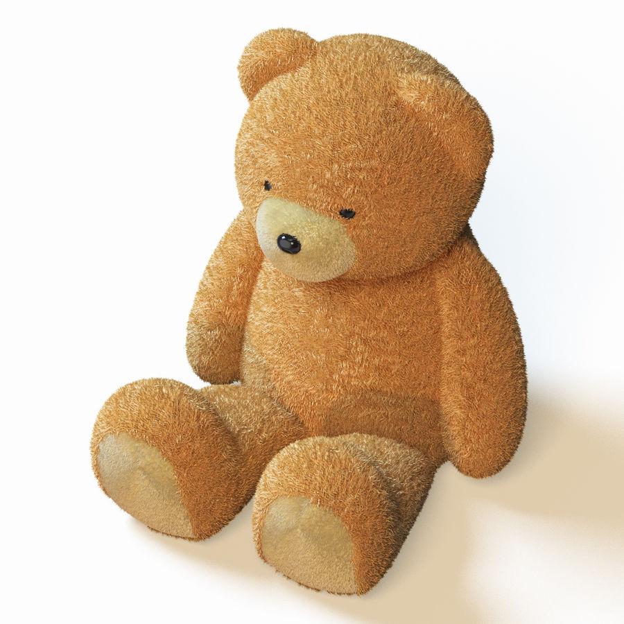 Плюшевый медведь royalty-free 3d model - Preview no. 5