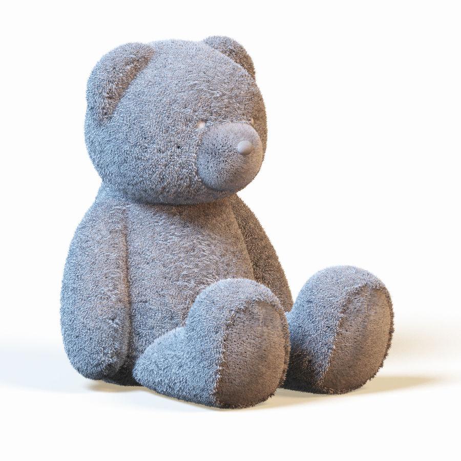 Плюшевый медведь royalty-free 3d model - Preview no. 7