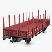 Cargo Wagon 3 3d model