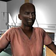 Medical Staff Male 47 3d model