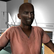 Medical Staff Male 47 3d model