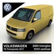 Volkswagen T5 Transporter 2011 3d model