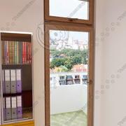 balcony door 01 3d model