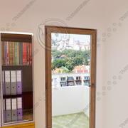 balcony door 02 3d model