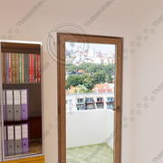balcony door 02 3d model