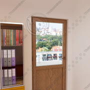 balcony door 03 3d model