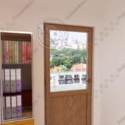 balcony door 03 3d model