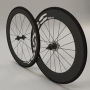 Rodas de bicicleta de estrada 3d model
