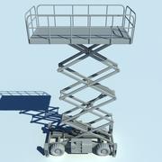 Élévateur à ciseaux 3d model