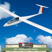 G69-GLIDER (version simple) 3d model