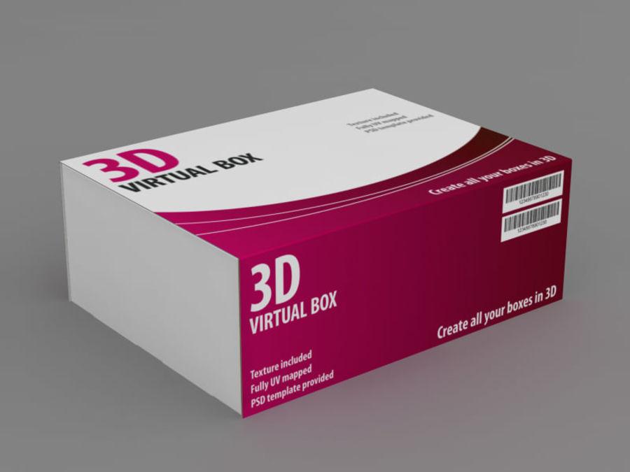 Elektronik Kutu royalty-free 3d model - Preview no. 5