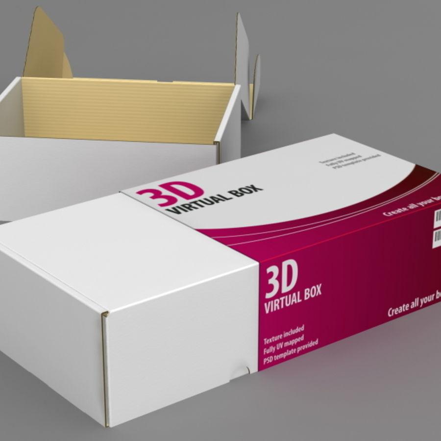 전자 제품 상자 royalty-free 3d model - Preview no. 3
