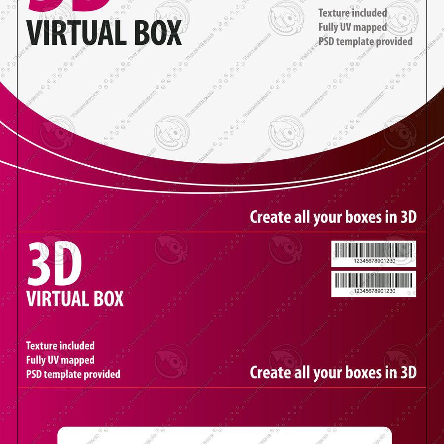 전자 제품 상자 royalty-free 3d model - Preview no. 2