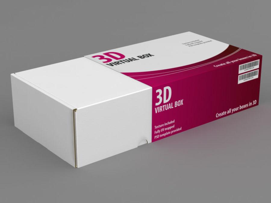 Electronics Box royalty-free 3d model - Preview no. 4