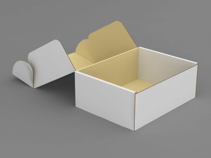 Electronics Box royalty-free 3d model - Preview no. 7
