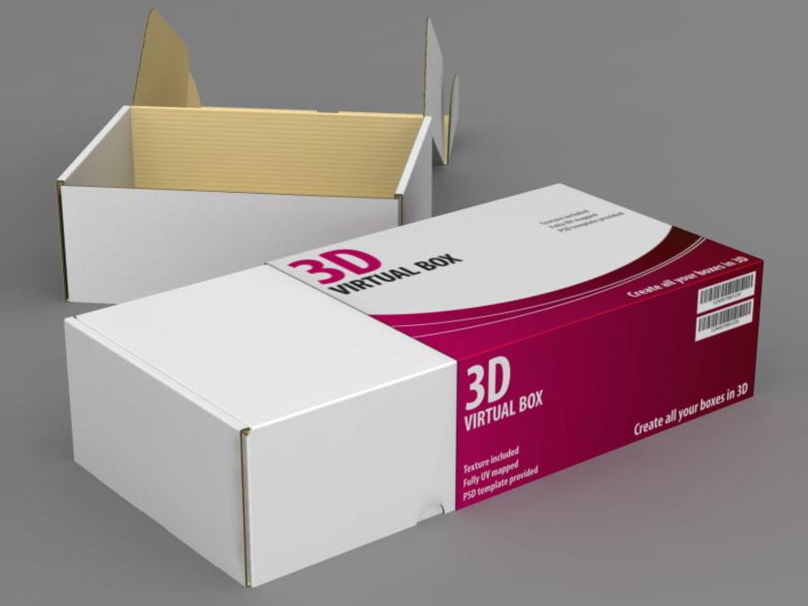 Electronics Box royalty-free 3d model - Preview no. 3
