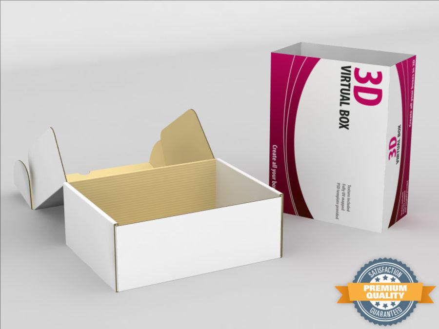 Elektronik Kutu royalty-free 3d model - Preview no. 1
