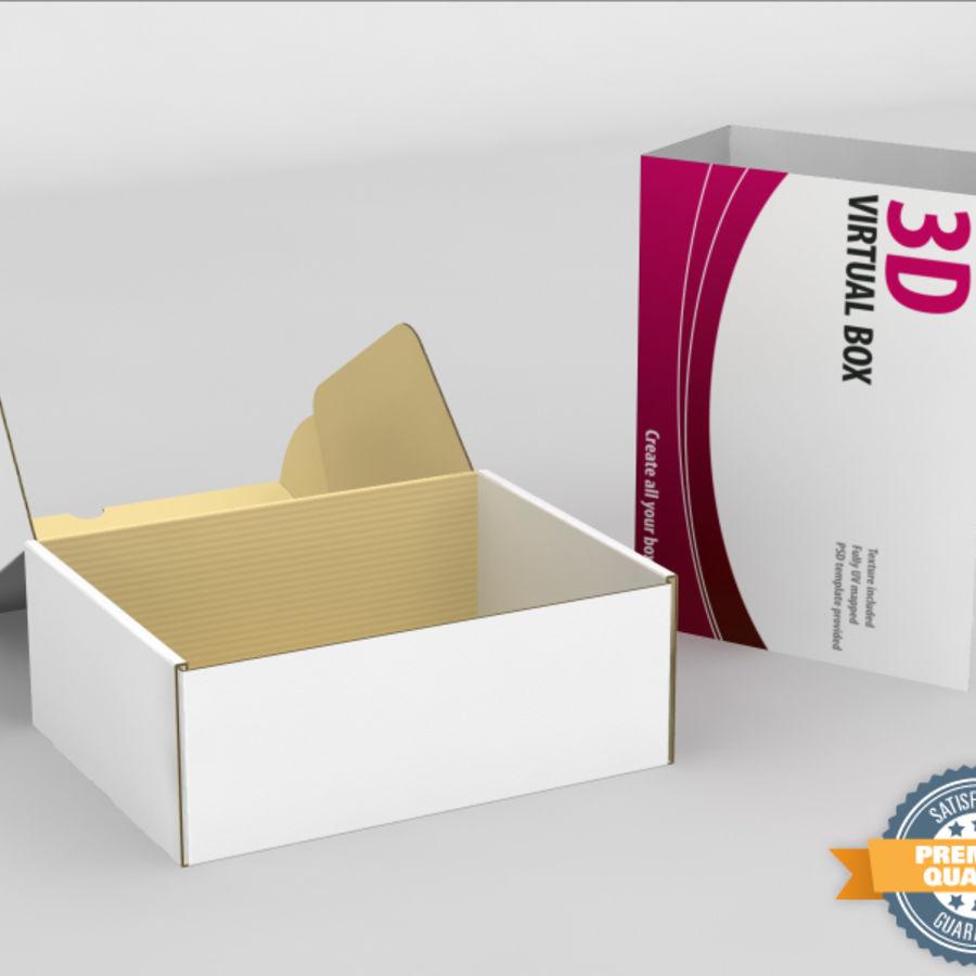 전자 제품 상자 royalty-free 3d model - Preview no. 1