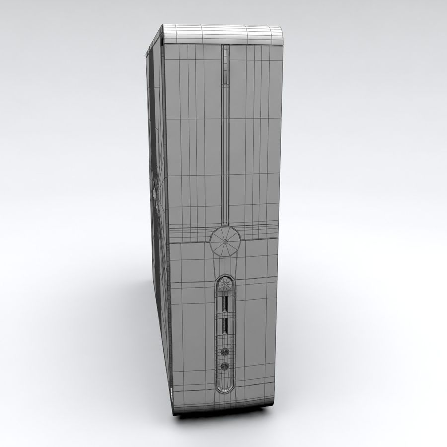 Dell Vostro 200 royalty-free 3d model - Preview no. 11