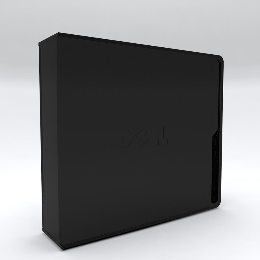 Dell Vostro 200 royalty-free 3d model - Preview no. 8