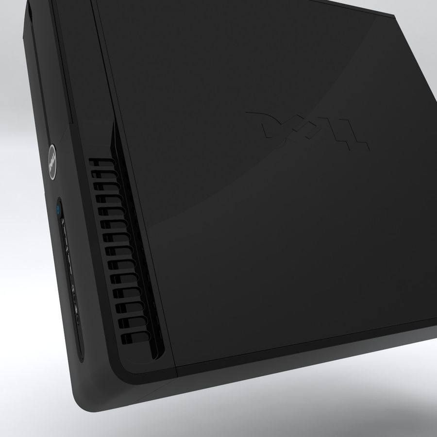 Dell Vostro 200 royalty-free 3d model - Preview no. 7