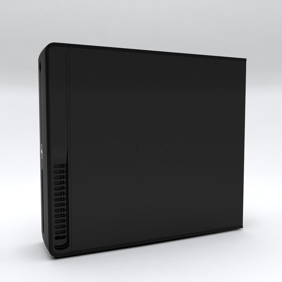 Dell Vostro 200 royalty-free 3d model - Preview no. 4