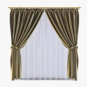 Curtains 12 3d model