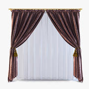 Curtains 11 3d model
