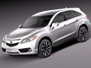 Acura RDX 2013 modelo 3d