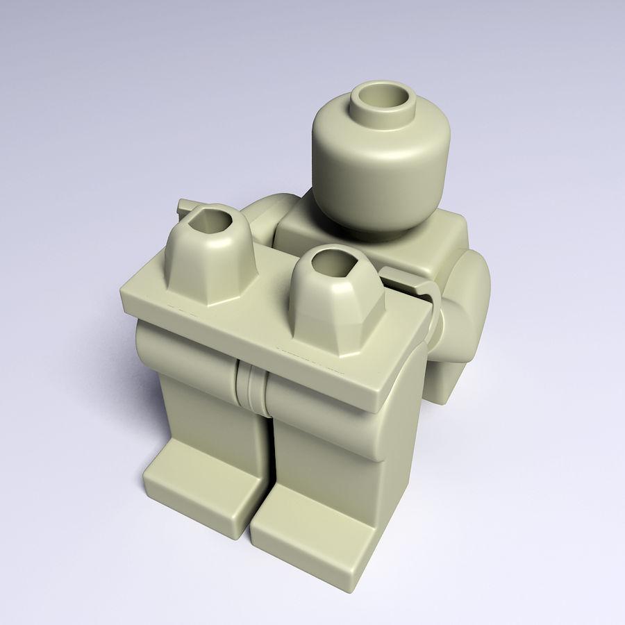 ijzeren man lego royalty-free 3d model - Preview no. 9