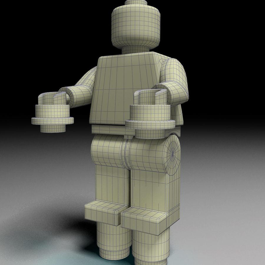 ijzeren man lego royalty-free 3d model - Preview no. 3