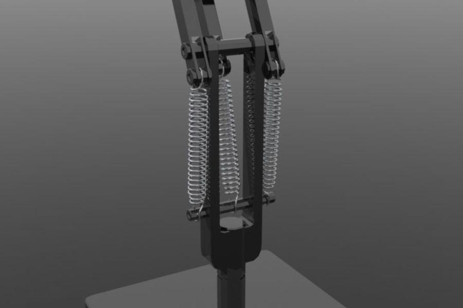 Lámpara de escritorio royalty-free modelo 3d - Preview no. 4