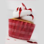 torte Cupcakes 3d model