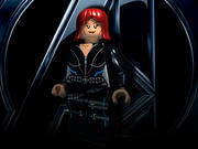 czarna wdowa lego 3d model