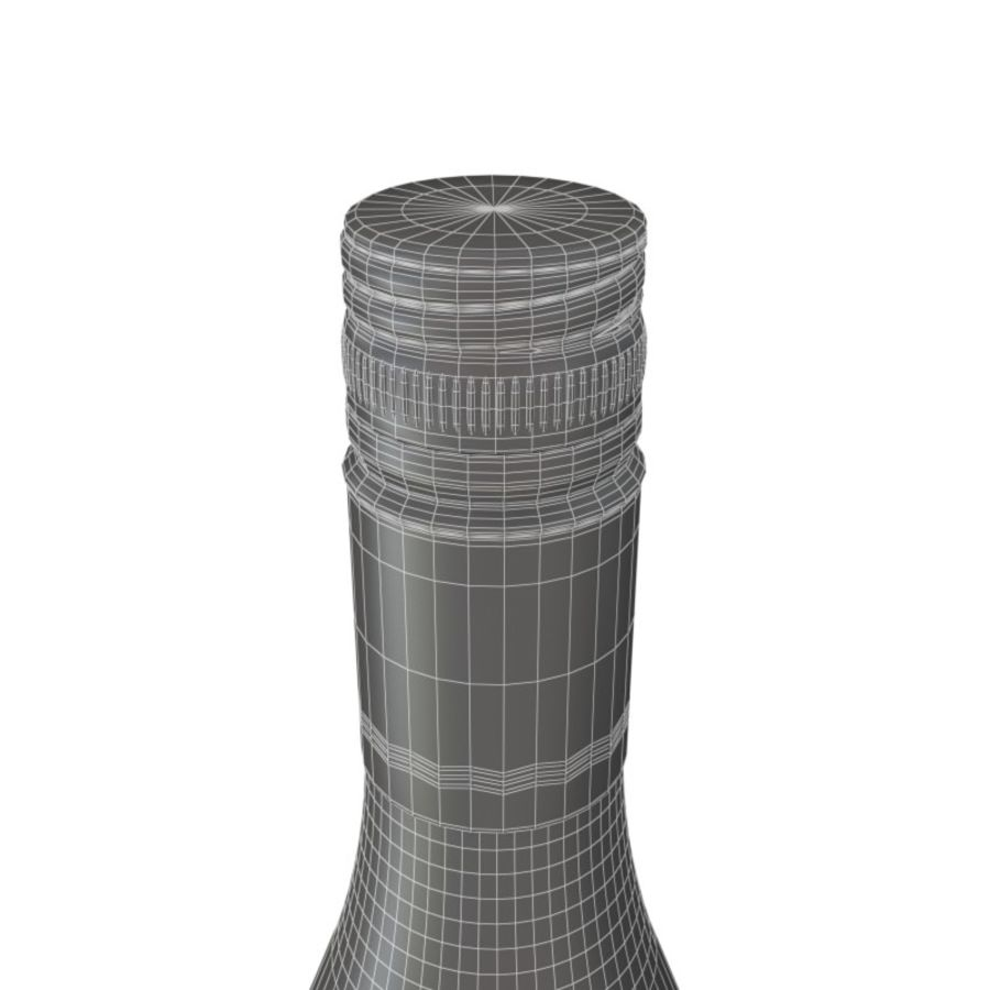Wine Oyster Bay red royalty-free 3d model - Preview no. 4