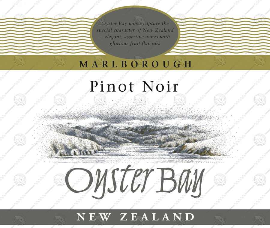 Wine Oyster Bay red royalty-free 3d model - Preview no. 6