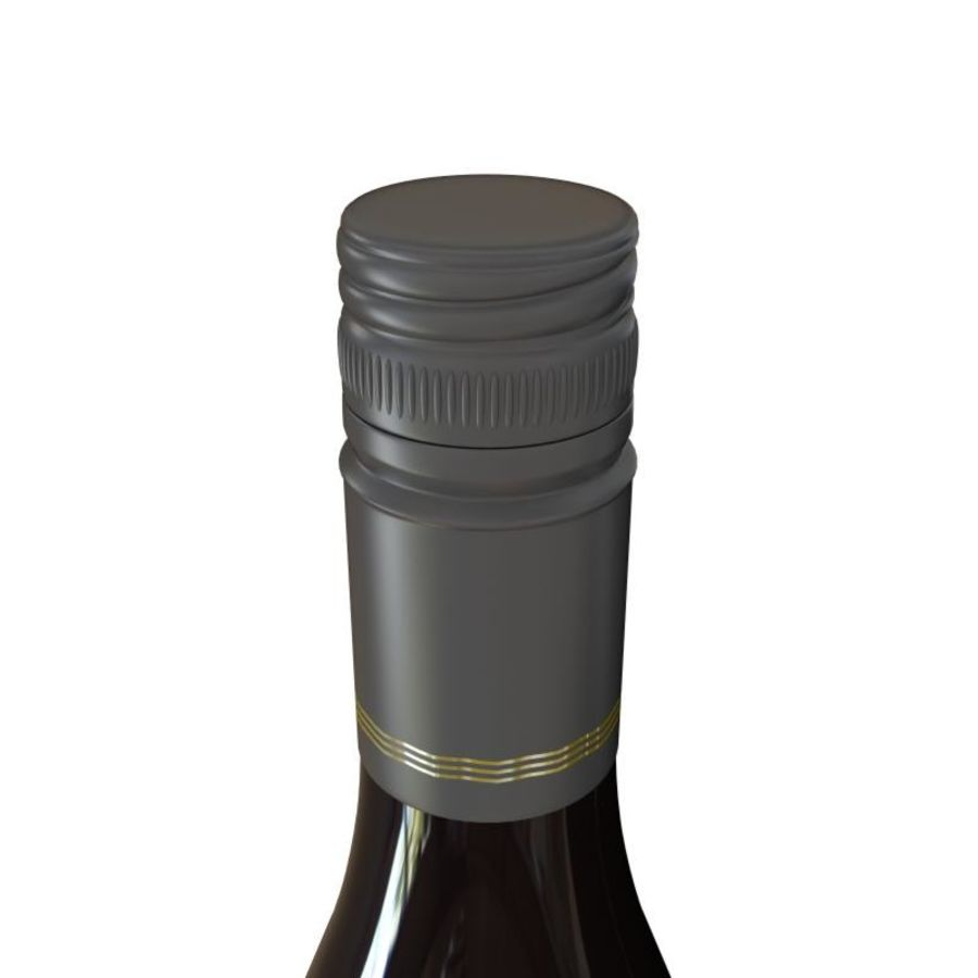 Wine Oyster Bay red royalty-free 3d model - Preview no. 3