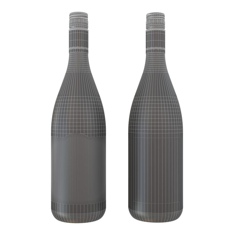 Wine Oyster Bay red royalty-free 3d model - Preview no. 1