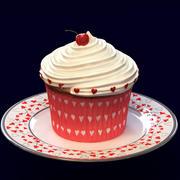 情人节蛋糕 3d model